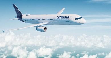 Lufthansa LH Flugzeug