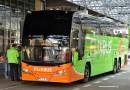 Flixbus im Bus Bahnhof