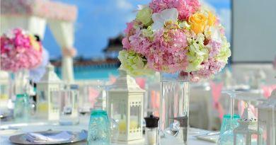 Malediven Honeymooner Blumendeko