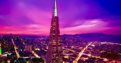 San Francisco Pyramid_Abendsonne