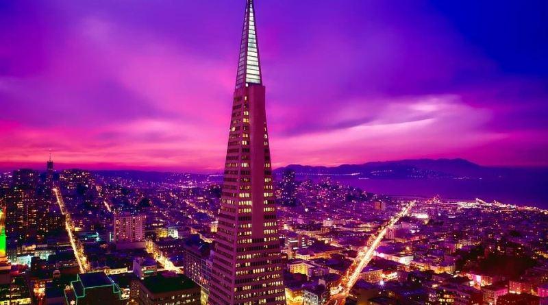 San Francisco Pyramid_Abendsonne