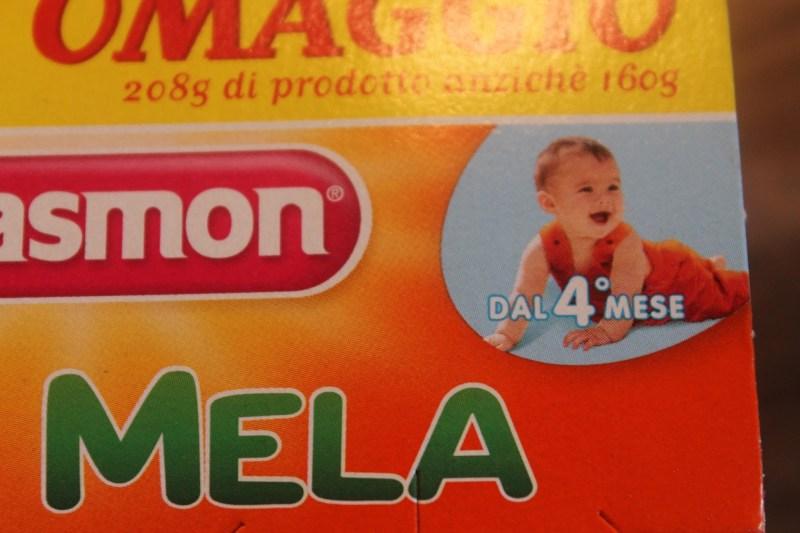 Babynahrung Italien