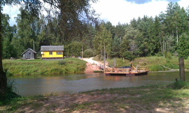 Kanufahren in Lettland