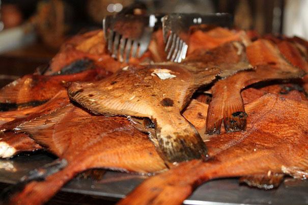 Fischgericht in Estland