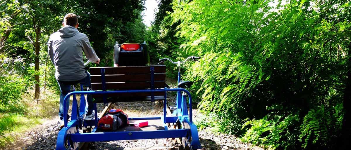 Erlebnisbahn Zossen mit KindernErlebnisbahn Zossen mit Kindern