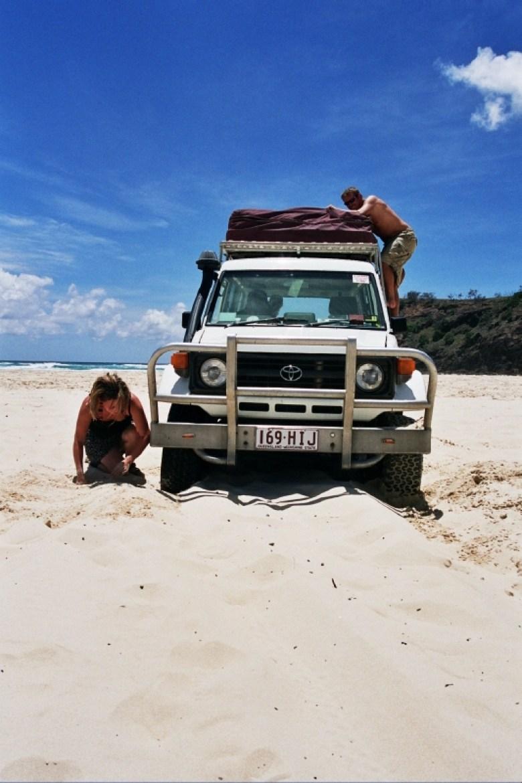 Aktiver Urlaub kann sehr anstrengend sein...