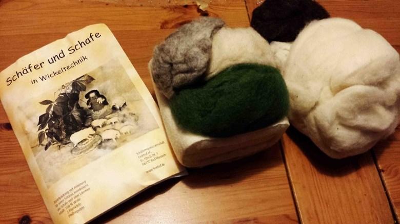"""Das Bastelpaket """"Schäfer und Schafe"""""""