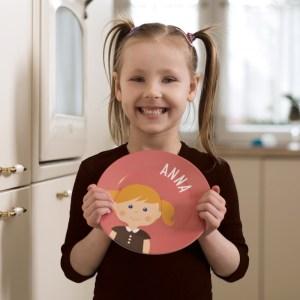 Personalisiertes Kindergeschirr von Littleli