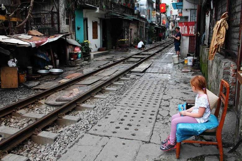 Wo ist die Hanoi Train Street