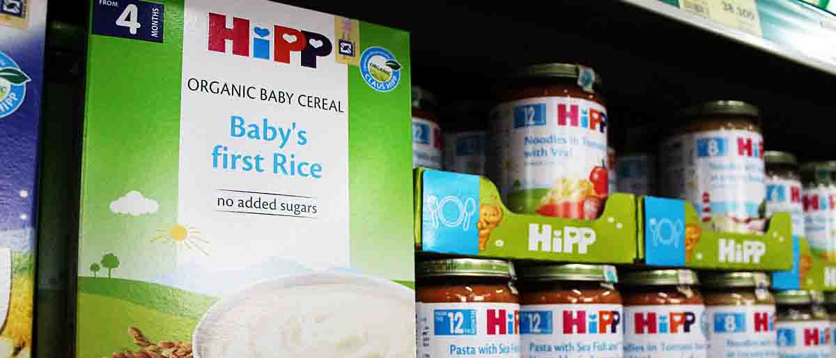 Babynahrung in Vietnam