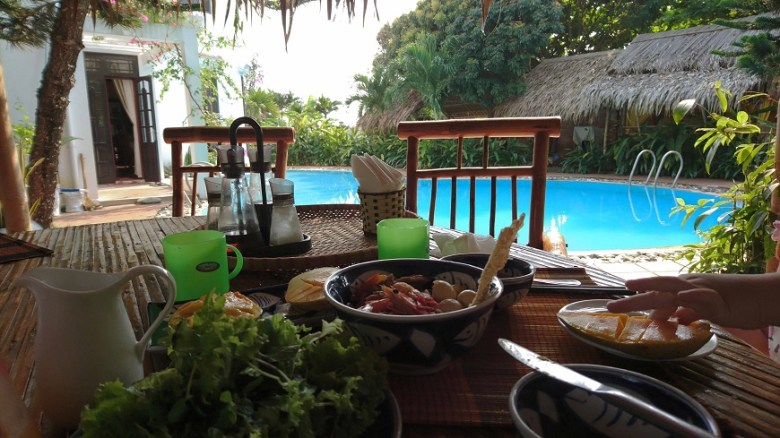 Frühstück und Vietnam mit Kindern