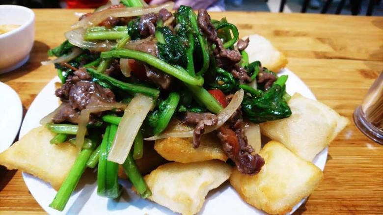 typische Fleischgerichte in Vietnam