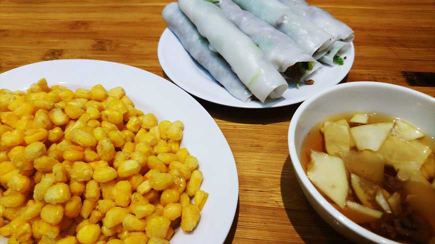 Pho Cuon in Vietnam