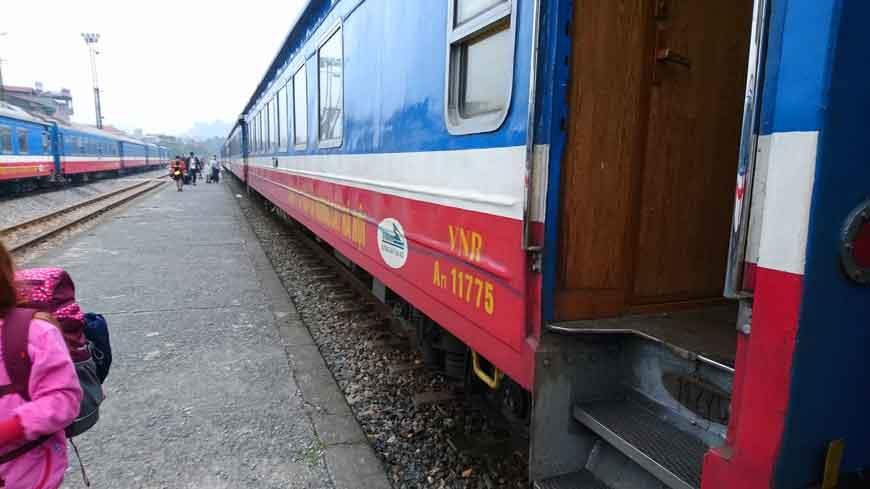 Reiseroute Vietnam Bahn