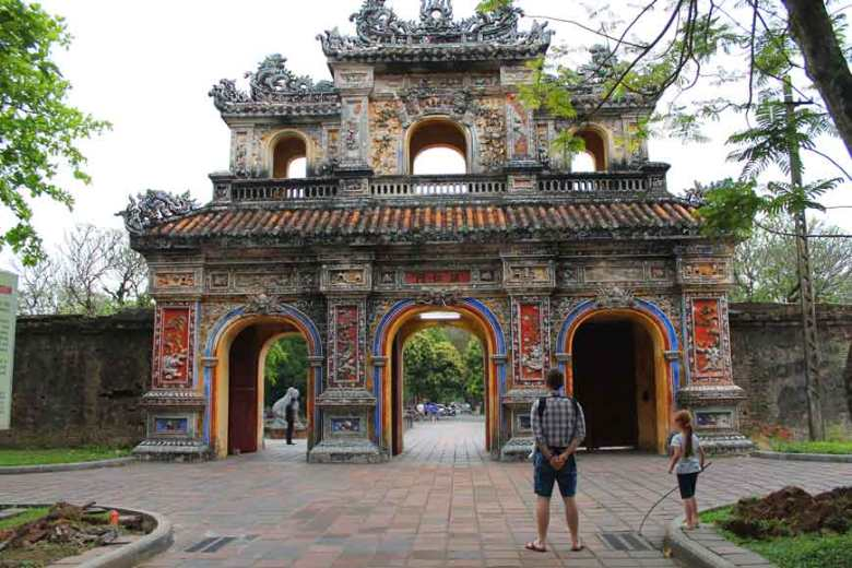 Reiseroute Vietnam Hue