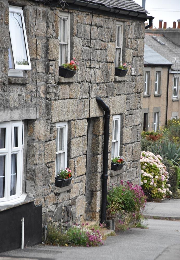 Häuserreihe St Ives