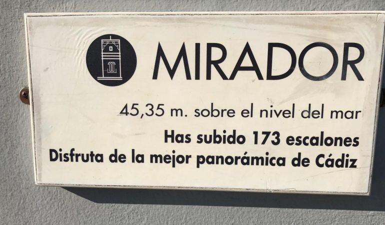 Torre Tavira - Mirador Cadiz