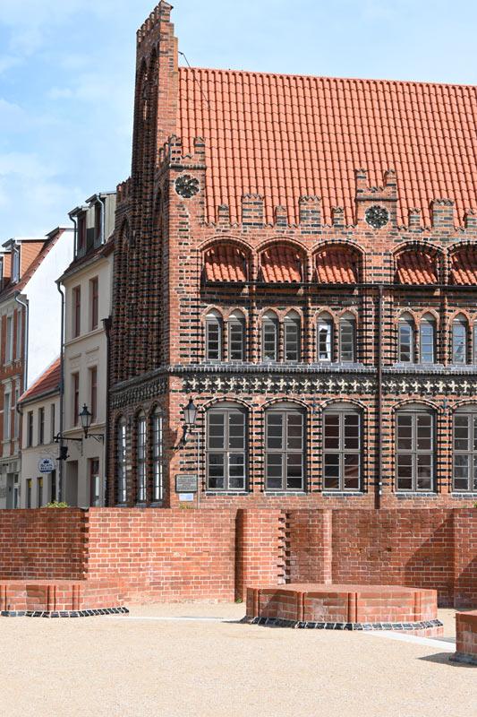 Marienvorplatz mit Altstadt
