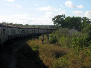 Zugfahrt von Nairobi nach Mombasa