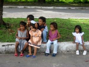 Kinder in Granada