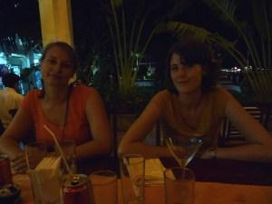 Treffen mit Sophie in Can Tho