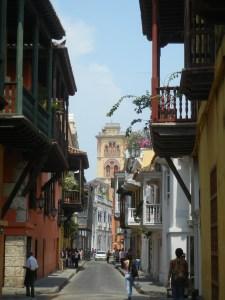 Die Altstadt von Cartagena