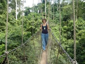 Canopy-Weg in Kakum