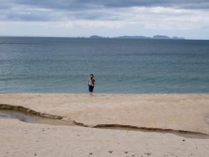 Erster Kontakt mit dem Meer
