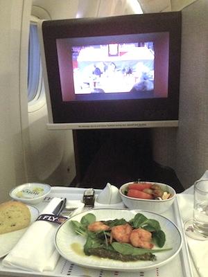 reisetips fly business class mat