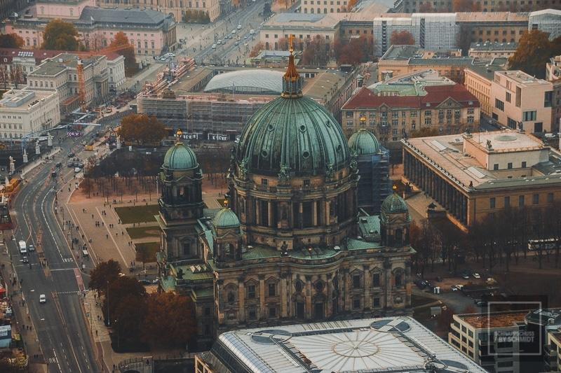 Berliner Dom von oben