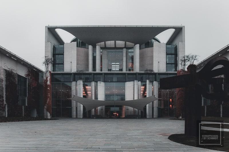 Eingang des Bundeskanzleramt