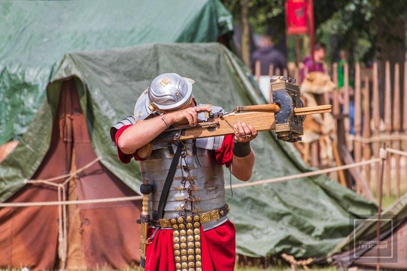 Römerfest - Die Römer kehrten nach Xanten zurück 1