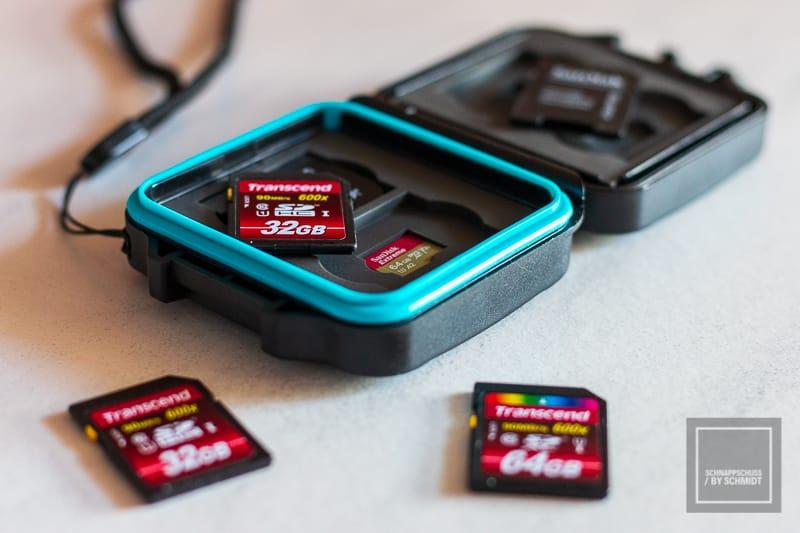Datensicherung der SD-Karten