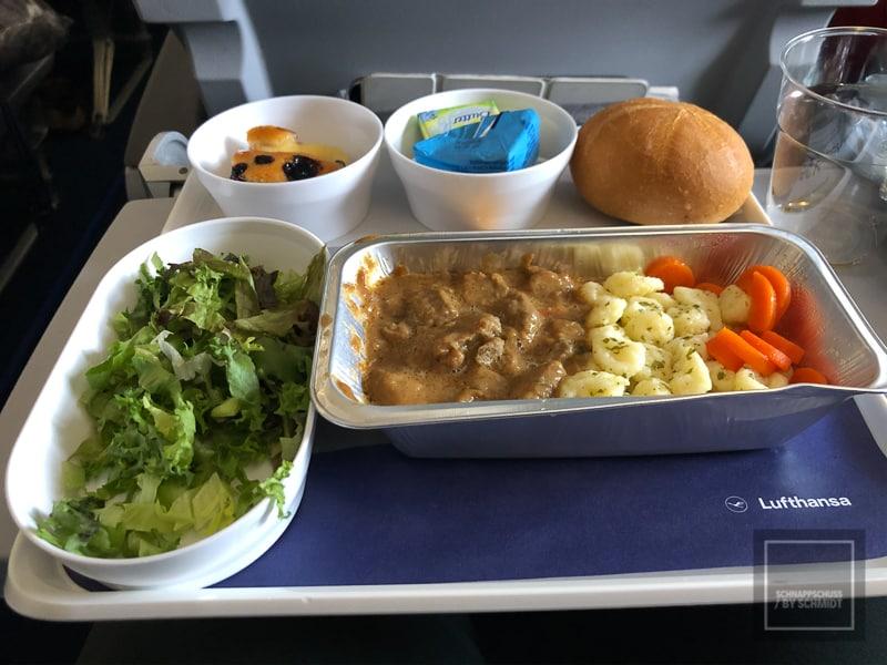 Mexiko Maya 1 - Lufthansa Mittag