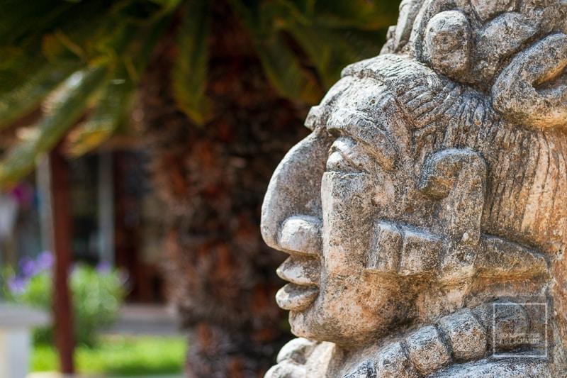 Mexiko Maya 1 - San Gervasio Statue