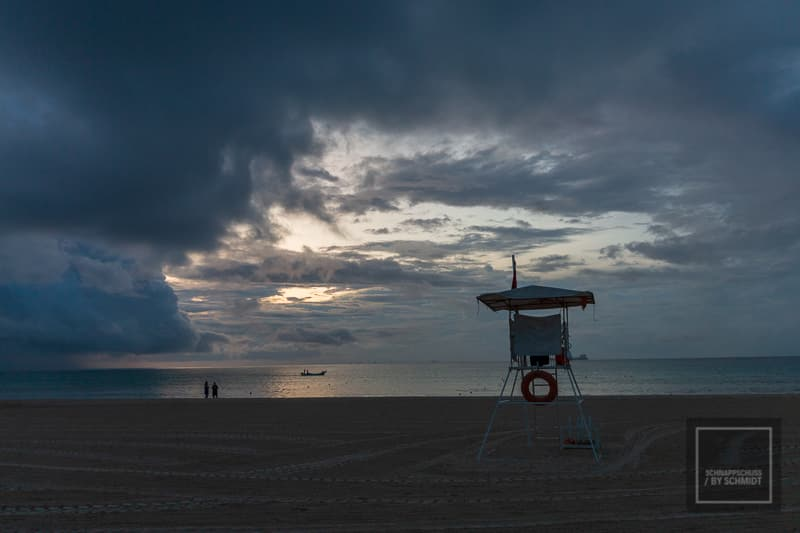 Mexiko Maya 1 - Bewölkter Strand