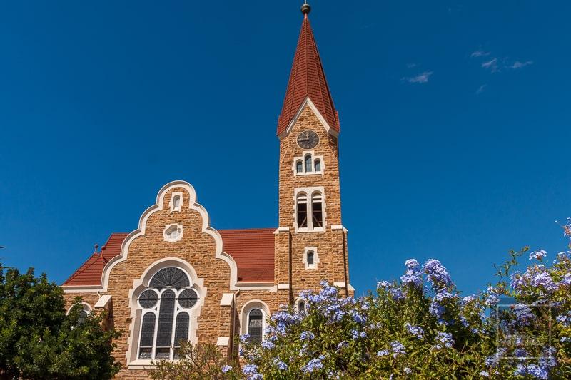 Namibia Rundreise - Christuskirche Windhoek