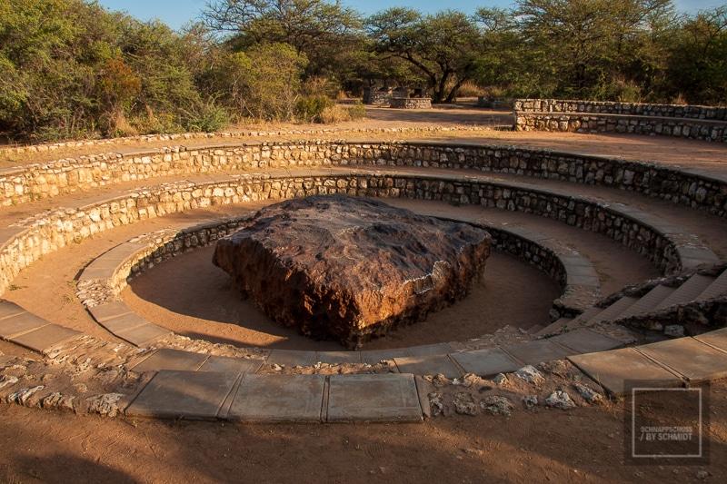 Namibia Rundreise 4 - Hoba Meteorit