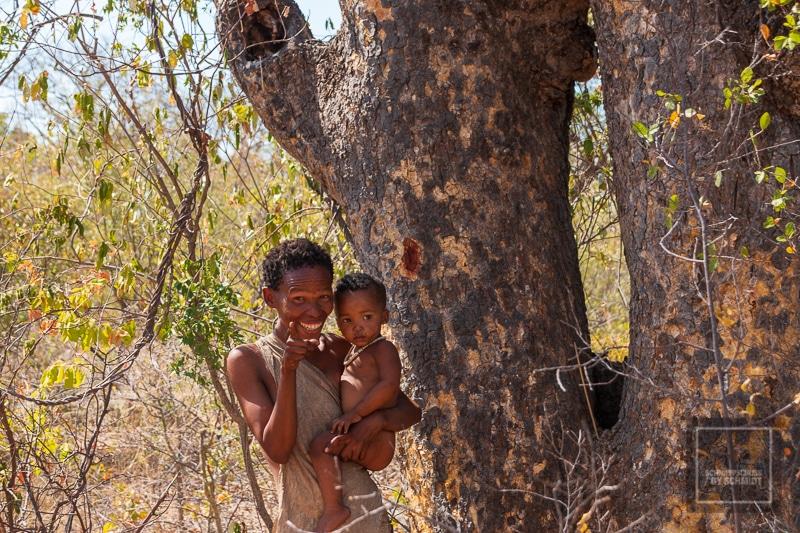 Namibia Rundreise 4 - San