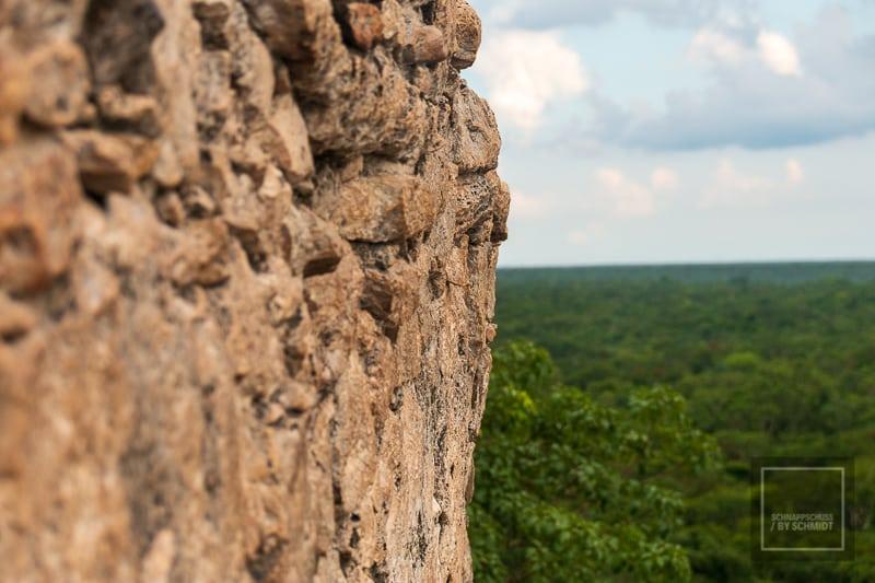 Mexiko Maya 2 - Blick von El Castillo