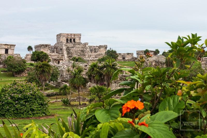 Mexiko Maya 2 - Tulum das Schloss