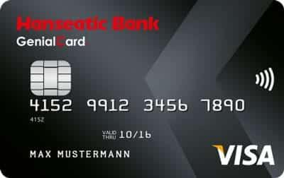 Reisekreditkarte Hanseatic Bank