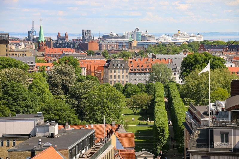 Kopenhagen - Blick über die Stadt