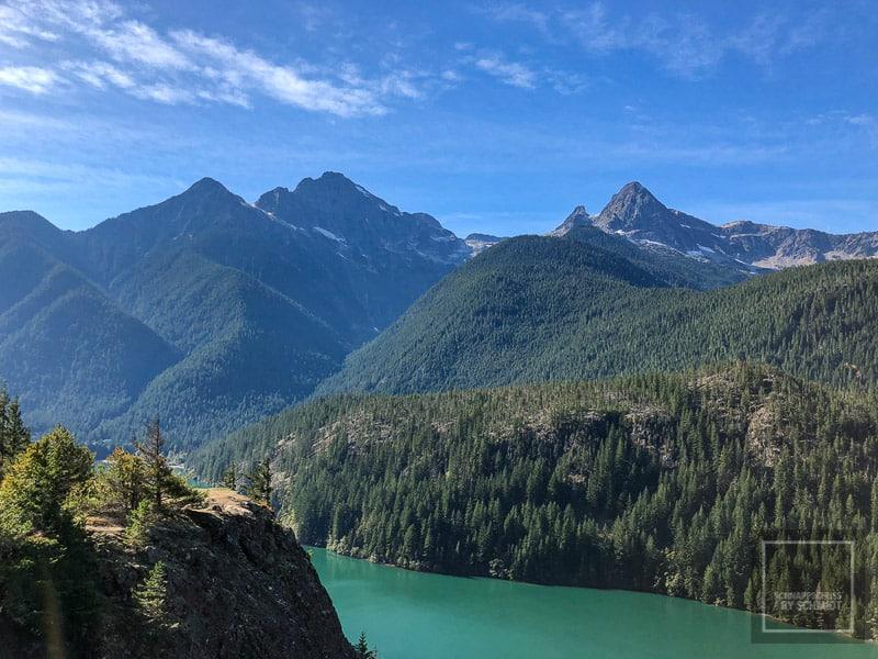 North Cascades National Park - Diablo Lake 1