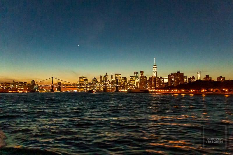 New York City - Manhattan bei Nacht