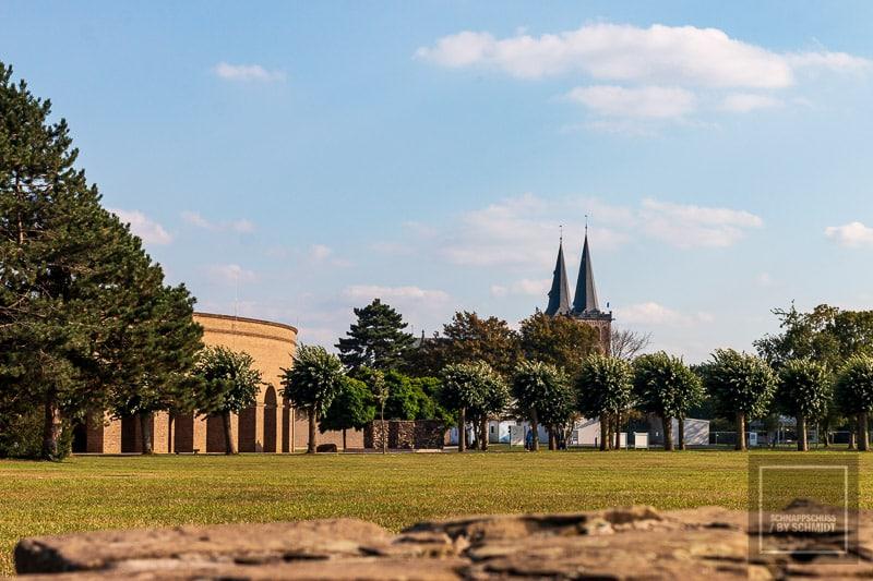 Archäologischer Park Xanten - Blick zum Dom