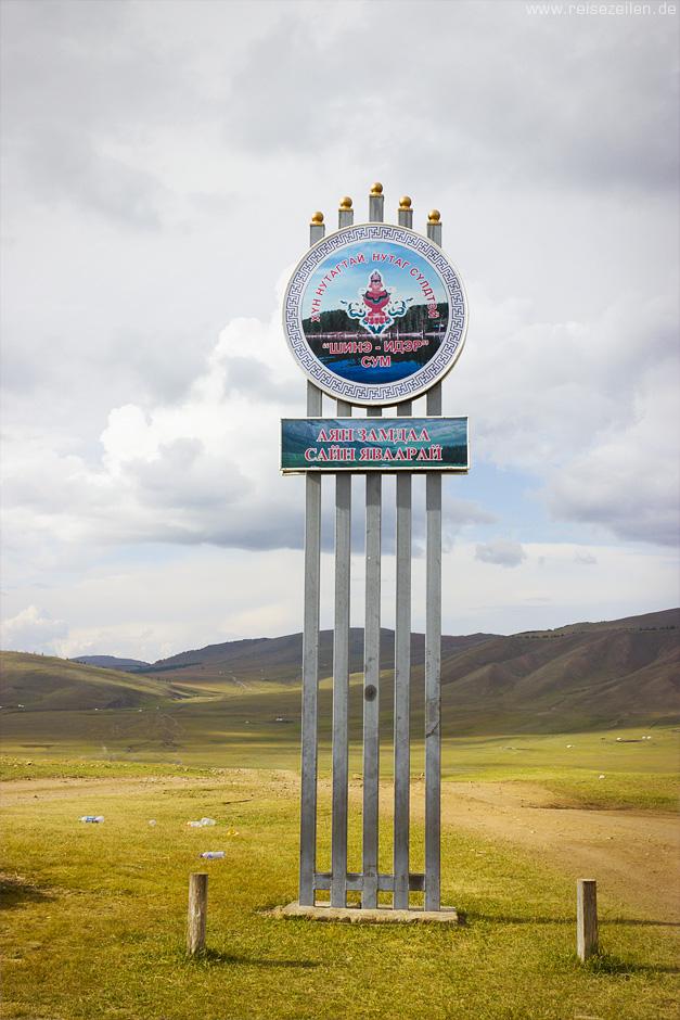 Wegweiser_Mongolei