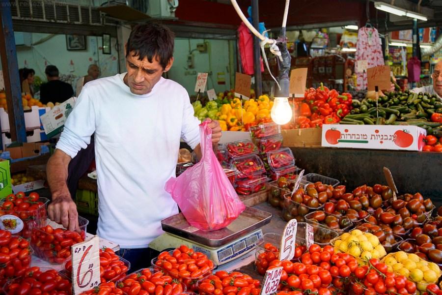 Israel Reisen Reisetipps Tel Aviv Carmel Markt
