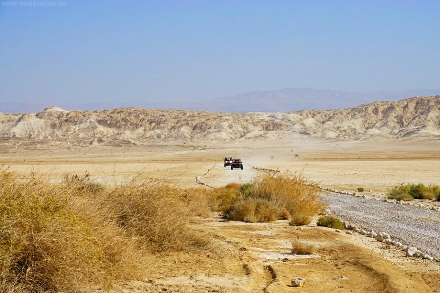 Israel Reisen Reisetipps Jeeptour Wüste Negev