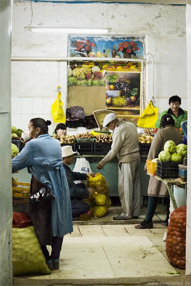 Markthalle Mongolei - Reisen - Reiseland - Reisebericht - Reisetipps